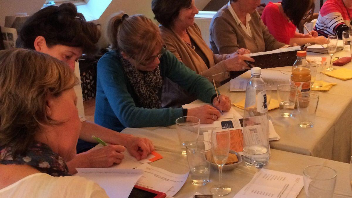Réunion de travail du Groupement Belge des Graphothérapeutes